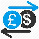Exchange Icon Money Currency Transparent Bank Finance