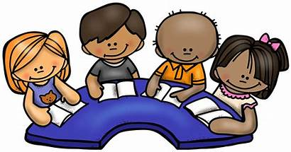 Clipart Reading Guided Kindergarten Friendly Child Transparent