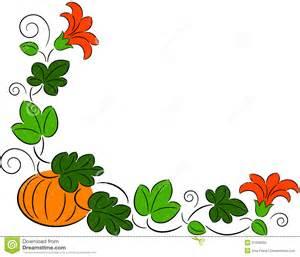 Fall Pumpkin Borders and Frames