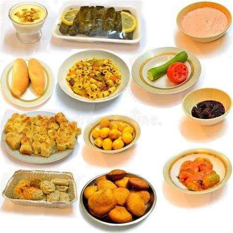 cuisine 4 arabe diner la nourriture de l 39 arabe de cuisine images stock