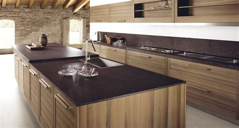 ilot bois cuisine ilot cuisine bois massif 1 cuisine en placage de bois
