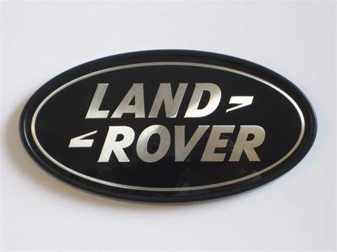 Range Rover Logo by Range Rover Sport Supercharged Tailgate Emblem Black Land