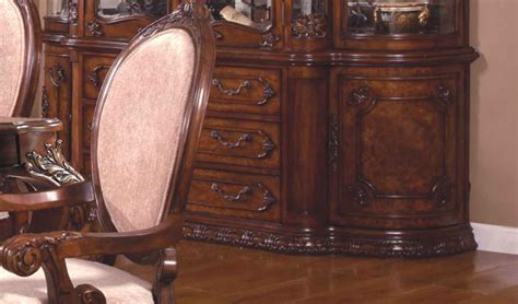ornate kitchen cabinets ornate traditional buffet with antique brown finish 1281
