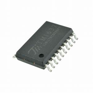 10pcs Tm1637 Led Digital Tube Drive Display Driver Chip Smd Sop