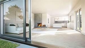 Offene Wohnküche Mit Wohnzimmer : doppelhaus mit charme wiercimok projektbau ~ Watch28wear.com Haus und Dekorationen