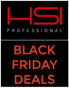 HSI Professional Black Friday Deals | HSI Professional ...