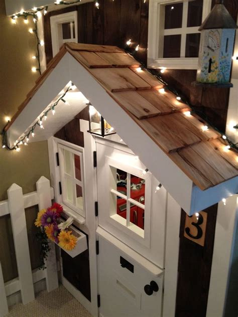 ana white kids playhouse  stairs diy projects