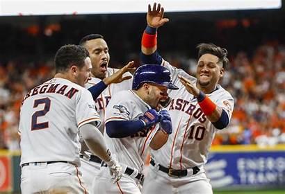 Astros Series Houston Win Run Altuve Winning