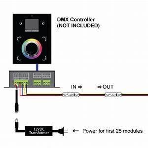 Dmx Addressable Digital 3 Chip Rgb Led Modules  Dmx