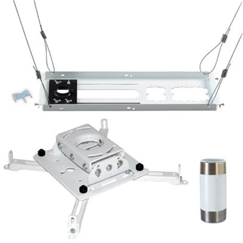 drop ceiling projector mount kit chief kitps003 or kitps003w projector ceiling mount kit