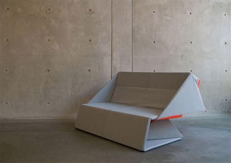 canap d pliable origami sofa par yumi yoshida déco design