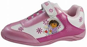 Girls Dora The Explorer Trainers Skate Sports Shoes Casual ...