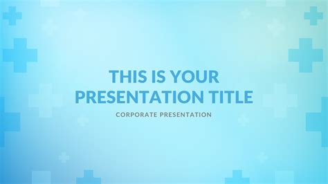 medical  powerpoint template keynote theme google