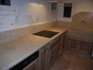 plan de travail en pierre naturelle de bourgogne cuisine With pierre pour plan de travail cuisine