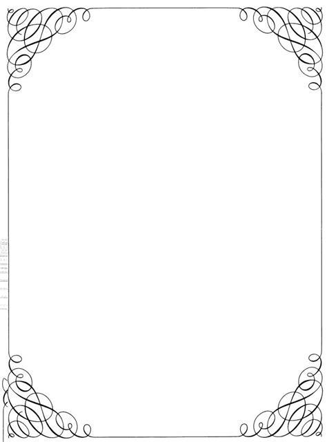 images  menu border template microsoft canbumnet