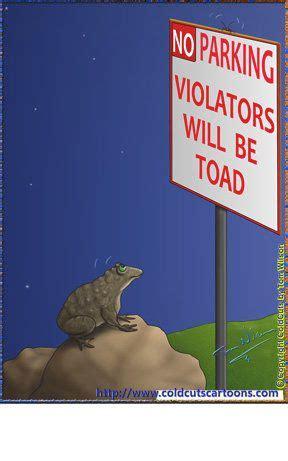 coldcuts cartoons  parking violators   toad