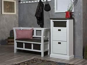Sitzbank Flur Schmal : loft schuhschrank schmal akazie massiv lackiert bi color ~ Sanjose-hotels-ca.com Haus und Dekorationen