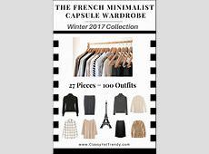 The French Minimalist Capsule Wardrobe Winter 2017