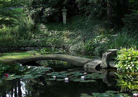 Steinbrücke [garten Und Gartengestaltung Wassergarten