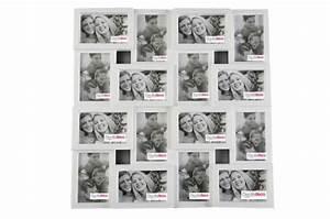 Grand Pele Mele Photo : cadre multi photos blanc olly cadres photos pas cher ~ Teatrodelosmanantiales.com Idées de Décoration