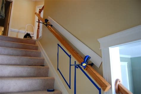 Installing Chair Rail Up Staircase?  Carpentry Diy