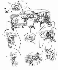 2001 Dodge Dakota Wiring - Instrument Panel