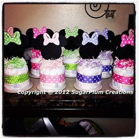minnie mouse baby shower decorations minnie mouse cake minis baby shower birthday centerpieces decorations ebay
