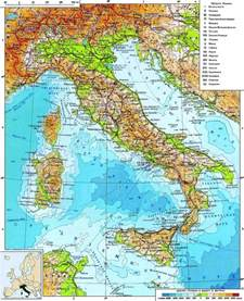 Detailed Map Italy