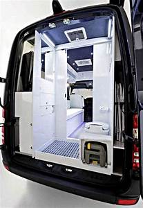 van-bath Cargo Van Conversion