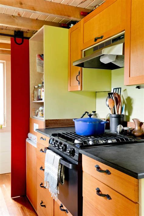 Tiny House Living: Cooking in a Tiny House Kitchen