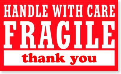 fragile stickers fragile labels  shipping
