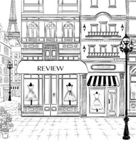 vector art storefront cute clipart  drawings pinterest shops french  clip art