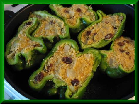 mes recettes de cuisine poivrons farcis au couscous mes recettes de cuisine