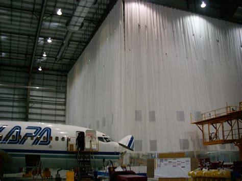 goffs curtain walls aircraft curtains partitions hangar curtains aero