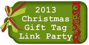 Christmas Gift Tag Link Party
