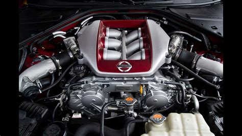 nissan gt r r35 2017 3 8 v6 twinturbo 570 hp engine and exhaust sound youtube