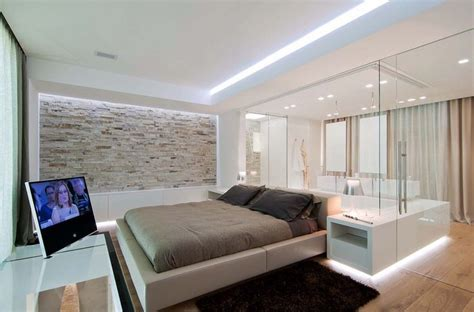 Sleek Bedrooms With Cool Clean Lines by Luxuriously Sleek Pad Showcases Clean Lines In Italy