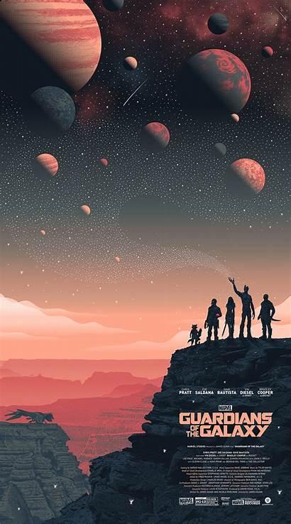 Galaxy Guardians Poster Landscape Bottleneck Posters Guillaume