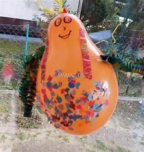 Einfache Bastelideen Für Kleinkinder : fasching ballonfiguren basteln mit kindern mamaz ~ Orissabook.com Haus und Dekorationen