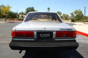 1987 Toyota Cressida Luxury Sedan