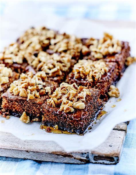 recettes de cuisine 2 karidopita ou gâteau aux noix crétois pour 6 personnes