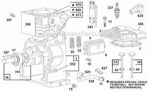 Briggs And Stratton 80200 Series Parts List And Diagram