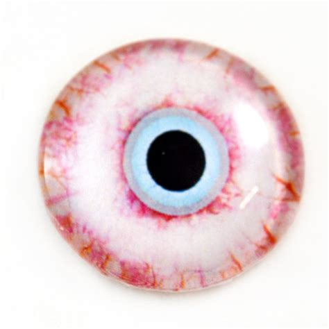 zombie eyes horror bloodshot glass 30mm eye eyeball doll