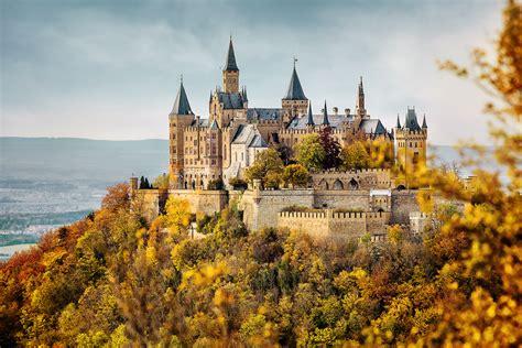 Burg Hohenzollern Im Herbst Foto & Bild Architektur
