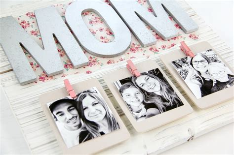 creative mothers day gift diy pallet picture frame