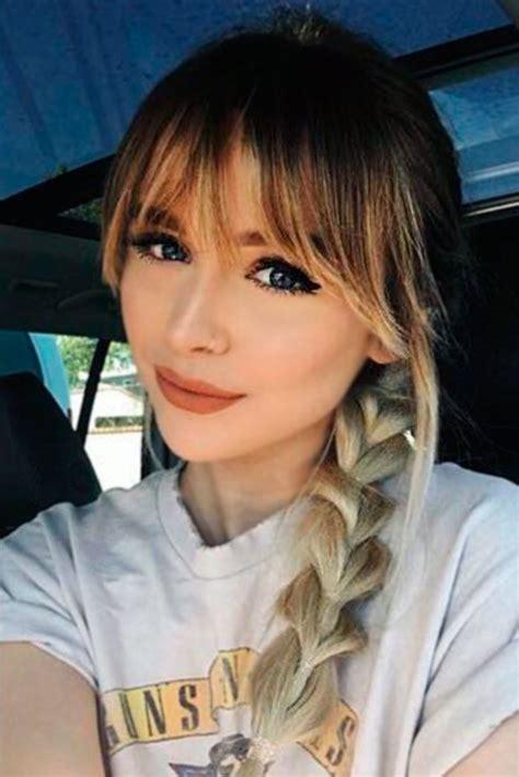 24 Popular Fringe Bangs Hairstyles for Women Hairstyles
