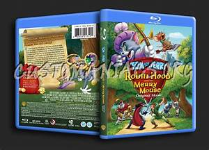 Tom and Jerry Robin Hood and His Merry Mouse blu-ray cover ...