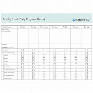Therapy Charting Software Activity Chart Daily Progress Report