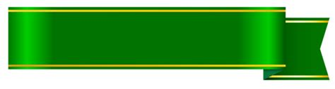 green banner png clipart picture clip art banner