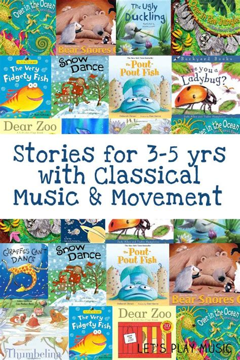 Music activities for kids are popular with little ones, they're fun, and they help kids learn skills and music and math are also very intertwined, so it would only make sense for one area to build on take turns being the leader and creating dance steps or arm movements to go along with the music you. Stories with Classical Music And Movement - Let's Play Music